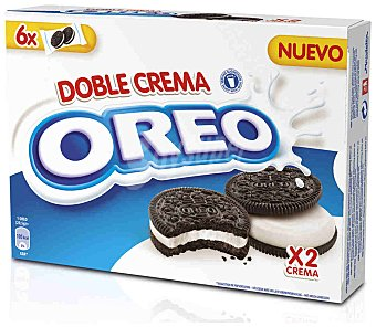Oreo Galleta doble crema 170 g