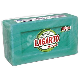 Lagarto Detergente en jabón a mano natural 250 g