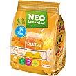 Caramelos de gelatina sabor piña y mango sin azúcar, sin gluten y sin aceite de palma botanica Bolsa 150 g Neo