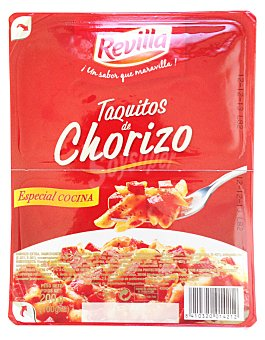 Revilla Chorizo dulce taquitos 2u x 100g