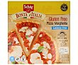 Pizza margarita sin glutén y sin lactosa 280 g Schär