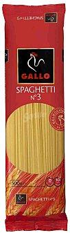 Gallo Pasta spaghetti nº 3 Paquete 600 g