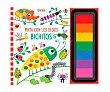 Pinta con los dedos: Bichitos, fiona watt. Género: infantil, colorear. Editorial Usborne.  Usborne