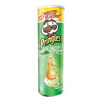 Pringles Sour Cream & Onion patatas fritas  tubo 175 g
