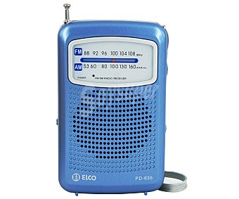 ELCO PD-635 Radio de bolsillo Radio bolsillo analógica