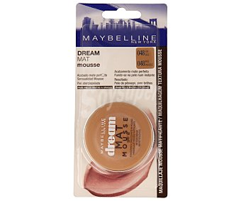 Maybelline New York Maquillaje mousse tono nº 48 para pieles mixtas y grasas 1u