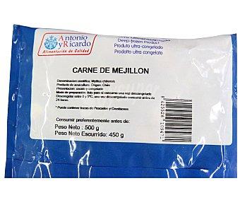 CONFREMAR Carne de Mejillón Bolsa de 450 Gramos