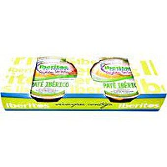Huerta dehesa Paté ibérico sin lactosa 2x50 g