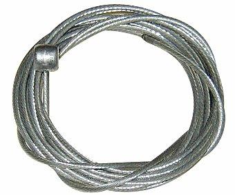 Auchan Ideado para remplazar los cables de freno del tipo V-brake o cantilever de la bicicleta. Fabricado en acero inoxidable preestirado 1.40 Metros.