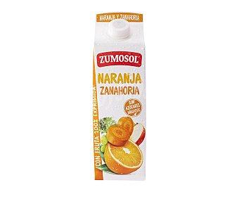 Zumosol Zumo exprimido de naranja y zanahoria Brick de 1 litro