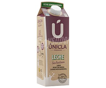 Únicla Leche de vaca semidesnatada y sin lactosa unicla 1 l