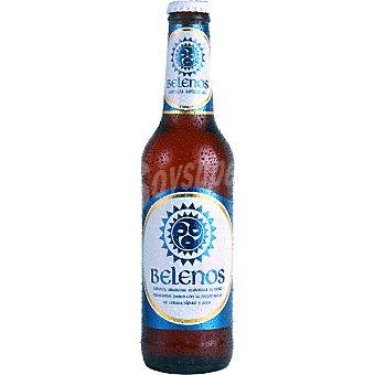 BELENOS Cerveza rubia nacional Botella 33 cl