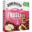 Barritas de cereal-arándanos-manzana Caja 180 g Jordans