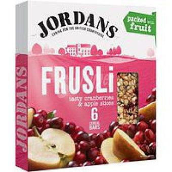 Jordans Barritas de cereal-arándanos-manzana Caja 180 g