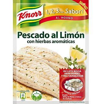 Knorr Sazonador de Pescado al Limón con hierbas aromáticas Sobre 18 g