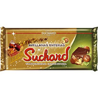 Suchard Turrón de chocolate con avellana Tableta 285 g