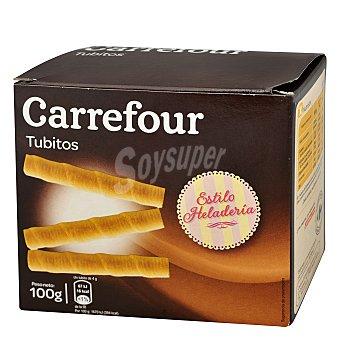 Carrefour Barquillos de tubito 100 g