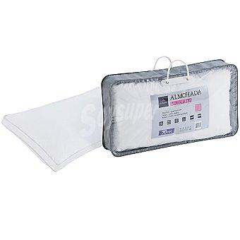CASACTUAL Micro Almohada blanca de microfibra con tratamiento de gel 70 cm