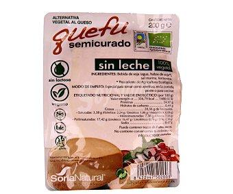 Soria Natural Queso semicurado de tofu Envase 200 g