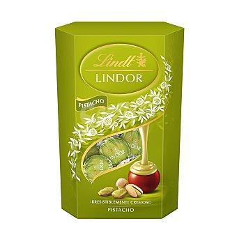Lindt Lindor Bombones de chocolate rellenos de cremoso de pistacho 200 g