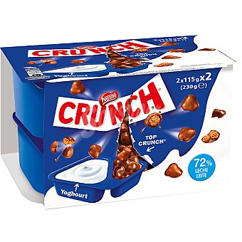 Crunch Nestlé Yogur duo Crunch Pack 2x115g