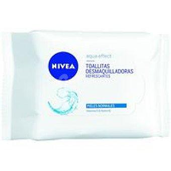 Nivea Toallitas desmaq. para piel normal-mixto Paquete 40 unid