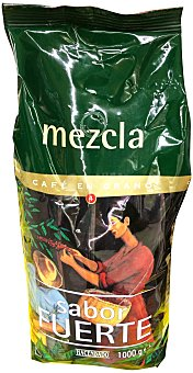 Hacendado Café grano mezcla Nº 4 Paquete 1 kg