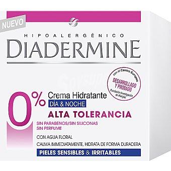 Diadermine Crema hidratante día & noche Alta Tolerancia para pieles sensibles & irritables Tarro 50 ml