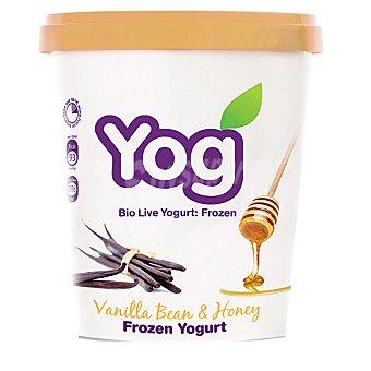 YOG yogur helado de vainilla con miel tarrina 172 ml