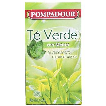 Pompadour Te Verde-Menta Pompadour Caja 25 sobres