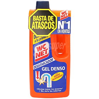 WC Net Desatascador gel Botella 1 litro