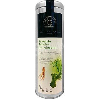 Club del gourmet Té verde Sencha con ginseng lata 100 g lata 100 g
