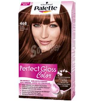 Palette Schwarzkopf Tinte Perfect Gloss Color 468 Caoba Sublime 1 ud