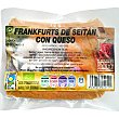 Frankfurt bio de seitán con queso Envase 190 g Integral artesans