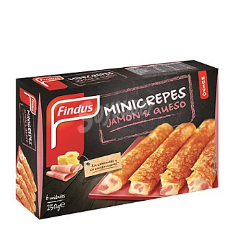 Findus Mini crepes de jamón y queso 250 g
