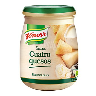 Knorr Salsa 4 quesos Blister 398 gr