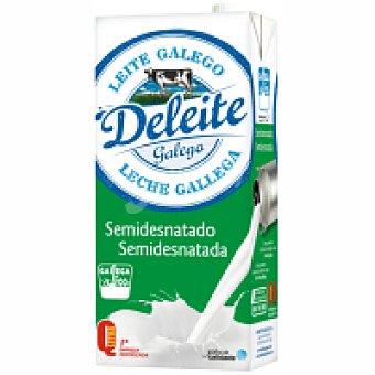 Deleite Gallego Leche semidesnatada 1 l
