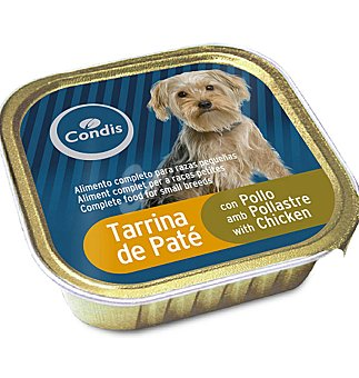 Condis Tarrina raz.peq.pollo 150 G