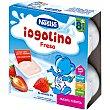 Postre Lácteo de Fresa 4 unidades de 100 g Iogolino Nestlé