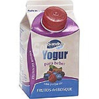Sandra Yogur líquido con pulpa de frutos del bosque Envase 250 g