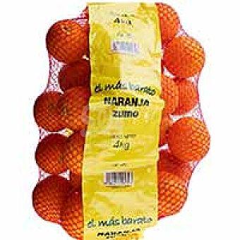 Naranja para zumo Malla 4 kg
