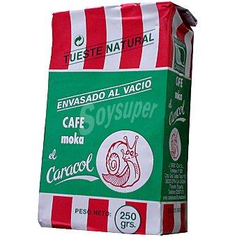 El Caracol Café molido natural 250 g