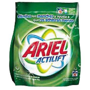 Ariel Detergente polvo 10 cacitos