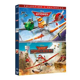 """Disney Aviones + Aviones: """"equipo de rescate"""" DVD 1 ud"""