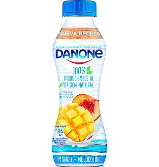 Danone Yogur beber mango y melocoton 1 unidad
