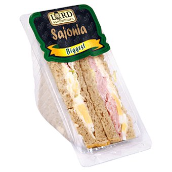 Lord Sandwiches Sándwich Biggest Sajonia Pan Integral 230 g