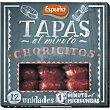 Choricitos Tapas al Minuto Envase 80 g (12 unidades) Espuña