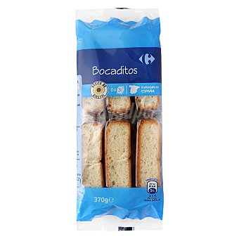 Carrefour Bocaditos Pack de 6x61,7g