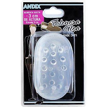 Andix Plantilla talonera alza caballero en gel talla 41-45