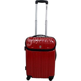 ORALLI Berlín Trolley rígido con bolsillo frontal en color rojo
